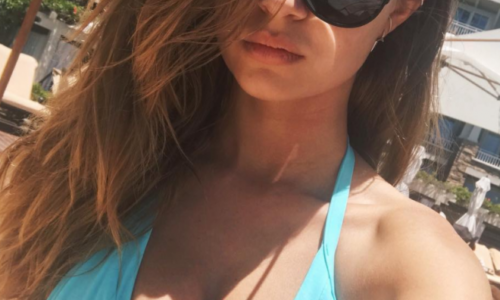 Josephine Skriver Bikini Selfies of the Day
