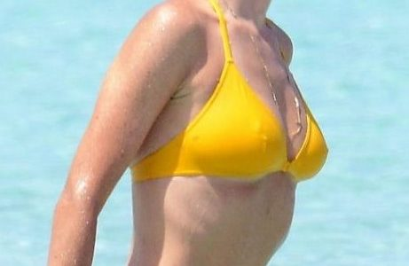 Jennifer Connelly Yellow Bikini of the Day