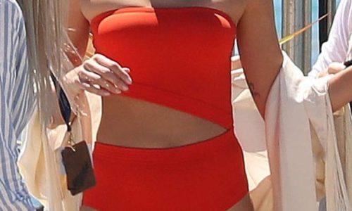 Isabeli Fontana's Bikini Photoshoot in Cannes