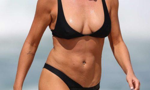 Lisa Clark Bikini Photos in Sydney