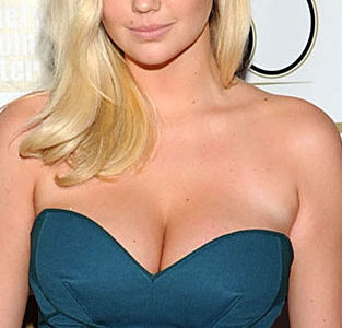 Kate Upton Busts Out All Of Her Ginormous Cleavage