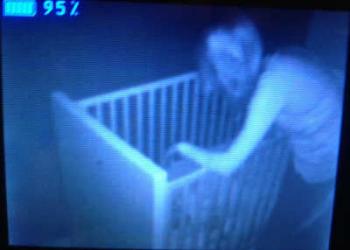 20 Creepy Photos Caught On Baby Monitors