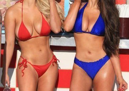 Jamie Leigh and Kinsey Wolanski's Appetizing Thong Bikini Photos