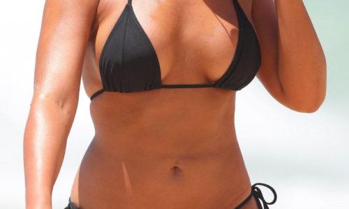 Noni Janur Bikini Photos in Sydney
