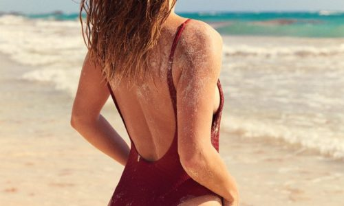 Nina Agdal for Aerie Swim of the Day