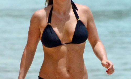 Coleen Rooney Bikini Photos in Barbados