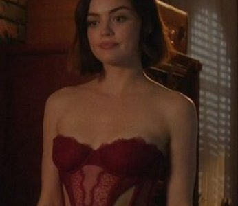 Lucy Hale Sexy Lingerie of the Day