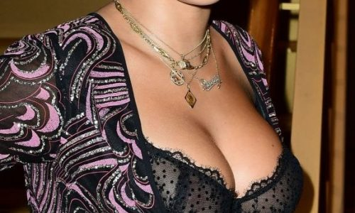 Rita Ora N*pples See Through Dress of the Day