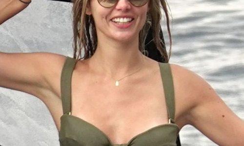 Danielle Knudson Bikini Photos on a Yacht in Capri