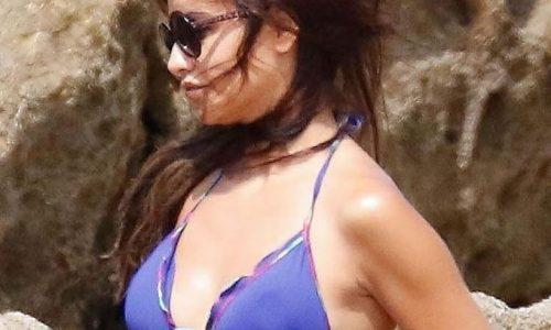 Monica Cruz Bikini Photos in Cadiz