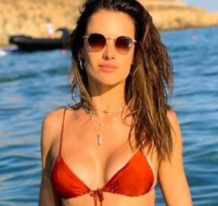Alessandra Ambrosio's Hot Mom Bod In A Bikini