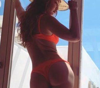 Gigi Hadid's B@@ty Works Hard In A Bikini