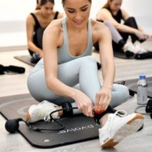 Olivia Culpo's Yoga & Workout With P.volve