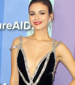 Victoria Justice Drops Some Seriously Sexy Braless Cleavage