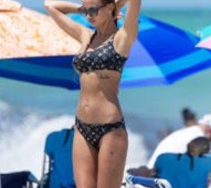 Valeria Sokolova (Pre-COVID-19) Bikini Photos in Miami