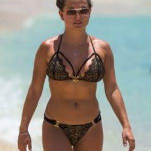 Zara Holland (Pre-COVID-19) Bikini Photos in Barbados