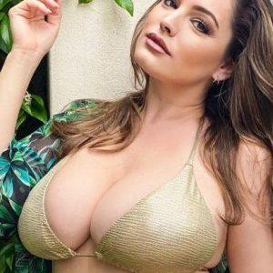Kelly Brook Fat Bikini of the Day
