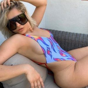 Bebe Rexha Gets Aggressive in her Swimsuit of the Day
